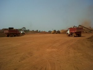 Soil Filling work transportation