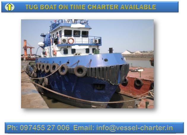 Tug Boat on charter
