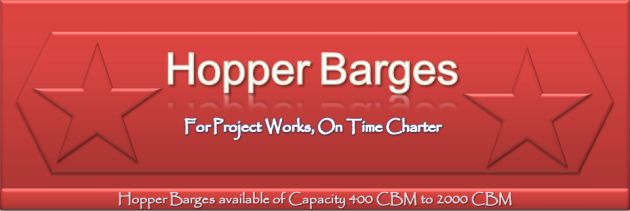 Hopper Barges on Time Charter, Rent, work , project